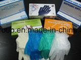 Очистить пищевой категории одноразовые порошок виниловых перчаток