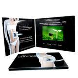 Поздравительная открытка LCD китайской оптовой продажи видео-