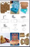 Selbstpapierkasten-stempelschneidene und faltende Maschine (Scherblock sterben)