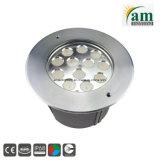 36W Staineless стали LED Подсветка для подводной съемки фонтан