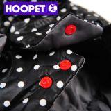 Manteau d'hiver noir pour chien et chandail pour chiens