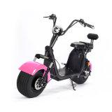 """""""trotinette"""" elétrico de Harley de 18.5 Cocos gordos da cidade do pneu da polegada com a bateria dobro de 20ah 60V"""