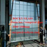 Rocky transparent de 8 mm de marque et le bronze pour sauna porte en verre trempé