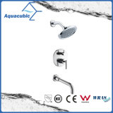 Faucet ливня клапана баланса давления комнаты ливня в-Стены Watersense Aquacubic (AF7328-7)