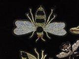 Zona Sequined di Applique del fiore, fiore Cucire-sugli accessori dell'indumento di DIY, Applique della zona di Handsew del panno dell'oca