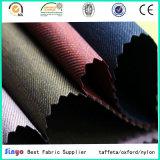 Il PVC ha laminato il tessuto 100% della saia del poliestere 600d Duotone per bagagli