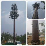 De gegalvaniseerde Kunstmatige Gecamoufleerde Toren van de Boom van de Pijnboom