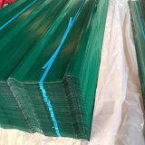 PPGI ha colorato lo strato di alluminio ondulato galvanizzato del tetto per costruzione