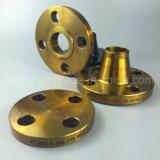 Aço carbono Wn Flange Forjados Flanges de RF com revestimento amarelo (KT0017)