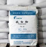 O uso de plástico de dióxido de titânio de Grau Rutilo/TiO2