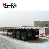 100 ton 3 As 13 Meters van Flatbed Semi Aanhangwagen