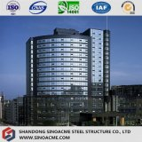 Здание гостиницы звезды стальной структуры 5 самомоднейшей конструкции