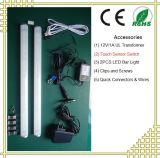Lumière de barre de LED à liaison avec du lait ou couverture transparente