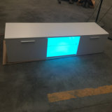 새로운 디자인 현대 가구 LED 가벼운 텔레비젼 대 진열장