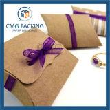 El plástico transparente de PVC almohada caramelo Caja de embalaje (CMG-PVC-013)