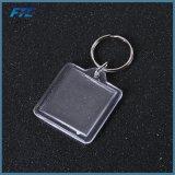 Hotel plástico de Keychain de las etiquetas dominantes de la escritura de la etiqueta del bolso de la identificación del equipaje numerado