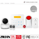 G-/Mdrahtloses Netzwerk + WiFi Hauptwarnung mit IP-Kamera-Funktion