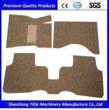 プラスチックPVC二重カラーおよび白黒カラーコイル・カーのフィートの敷物