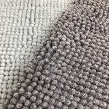 Stuoia assorbente della stanza da bagno della micro della fibra del Chenille del filato acqua durevole anticorrosiva antisdrucciolevole del Doormat