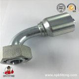 90° 24° cône femelle métrique le joint torique du raccord de flexible intégré 2049220491y y
