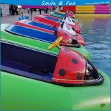 Прелестная лодки в парк развлечений бассейн