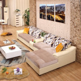 Un style moderne en bois simple jeu de sofa Design