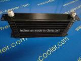 Dispositivo di raffreddamento universale dell'olio per motori del nero 10rows dell'alluminio