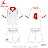 Healong OEMのスポーツ・ウェアのDriの適当な昇華フットボールジャージー中国(HL00006)