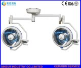 Светильник Operating стационара Потолк-Установленный пользой двойной Shadowless головной светлый медицинский