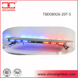 Rotes Blue LED Strobe Lightbar mit Inside 100W Speaker (TBD08926-20-3T-S)