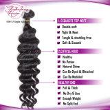 Vente en gros Virgin Remy Hair Loose Wavy Extension de cheveux humains vierges péruviennes