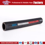 Umsponnene hydraulische Gummischlauch-Silikon-Rohrleitung