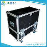 Traitement en aluminium de cas de vol du DJ de matériel d'étape