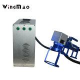 Machine d'inscription de laser de fibre de Sino-Galvo avec le logiciel d'Ezcad pour l'étiquette en métal