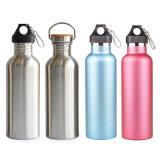 Aço inoxidável Sport garrafa de água balão Térmica Inox com isolamento térmico de vácuo garrafas vaso inoxidável exterior