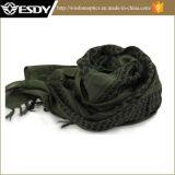 Verde arabo dell'esercito della sciarpa di Hijabs delle sciarpe del deserto tattico