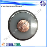 Copper Conductor Coaxial Concentric XLPE Insulated PVC Sheathed Armored Electric Power Cable