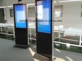 Пол 42 дюймов стоя вертикальный киоск объявления LCD Signage цифров