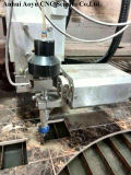 Metal 3D MachiningのためのAy5020uの5軸線6000psi CNC Water Jet/Waterjet Cutting Machine