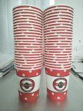 заводская цена биоразлагаемых одной стене PE покрытием Papercups кофе