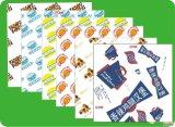 Personnalisé Papier couché de grade alimentaire PE Pack en sachets de sucre, rouleau de papier pour l'emballage Suga