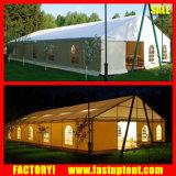 투명한 PVC 지붕 및 측벽 결혼식 큰천막 천막