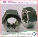 고품질 DIN 934 탄소 강철 스테인리스 육각형 견과