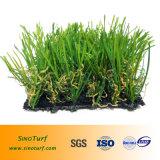 Het modellerende Kunstmatige Gras van het Gras, het Gras van de Decoratie, voor Countyard, Zaal, Hotel, Toonzaal, School, het Gras van de Familie, vult niet het Gras van het Gras, Infill Vrij Gras