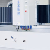 Máquina de cristal triaxial del ribete del CNC para el vidrio Shaped de pulido