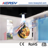 Creative goutte d'eau intérieur P5 Affichage LED fixe