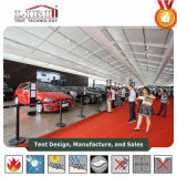 展覧会のための巨大な玄関ひさしのテントの構造50mのスパンの幅