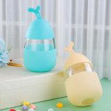 De mooie Fles van het Water van het Ei met de Koker van het Silicone voor Gift