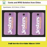 Mini 1/3 delle schede del PVC di formato della carta di credito per il commercio
