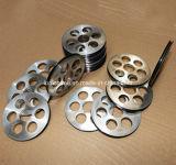 Puleggia rivestita di ceramica della macchina di alluminio della puleggia più al minimo -3/Enamelling del rivestimento di ceramica